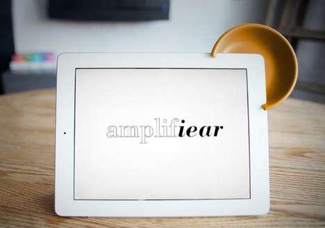 Sound-Boosting iPad Gadgets