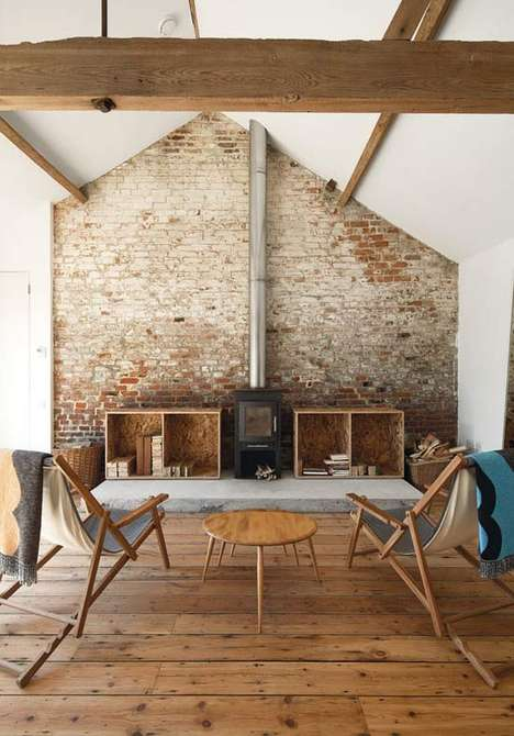 Modernized Strand-Board Abodes - The Carl Turner British Barn is a Perfect Combo of Country and Chic