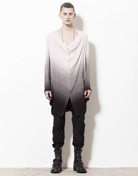 Moody Macabre Fashions - The Liberum Arbitrium FW 2012 Collection is Dark and Mysterious