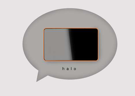 Digital Business Card Devices - 'Halo' by Fitorio Leksono Says Goodbye to Paper