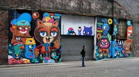 Kawaii Creature Street Art