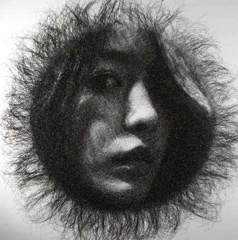 Mesh Wire Portraits