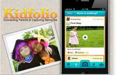 Proud Parenthood Apps - The Kidfolio Digital Scrapbook Lets Moms and Dads Swap Photos and Advice