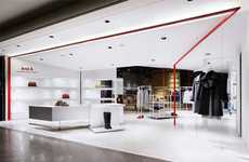 Customer Luring Boutiques - Moment Design 'And A' Clothing Store Facelift Will Coax You In