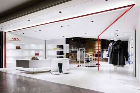 Moment Design 'And A' Clothing Store Facelift Will Coax You In