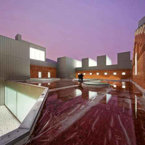 Mod Converted Prisons - Cultural Civic Center by Exit Architects Transforms Jail into a Haven