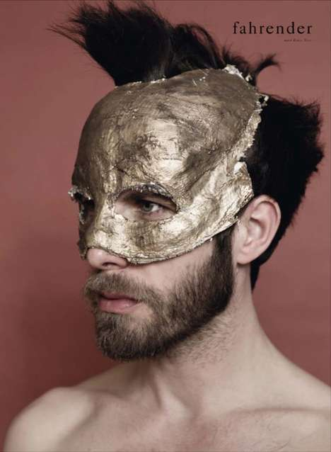 Golden Gilded Hero Captures - The Andreas Seyfarth by Joachim Baldauf Shoot is Provocative