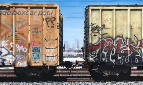 Realist Box-Car Art