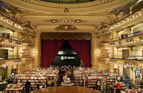 Colossal Cinema-Converted Bookstores