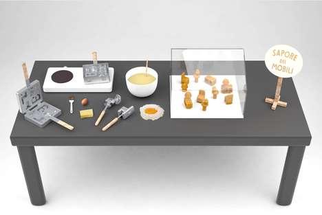 Mini Furniture Food