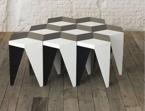 Modular Rhombus Tables