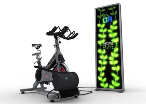 Energy Generating Gymcycles
