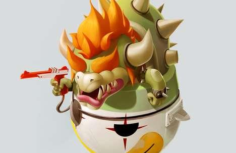 Cutesy Game Avatar Art