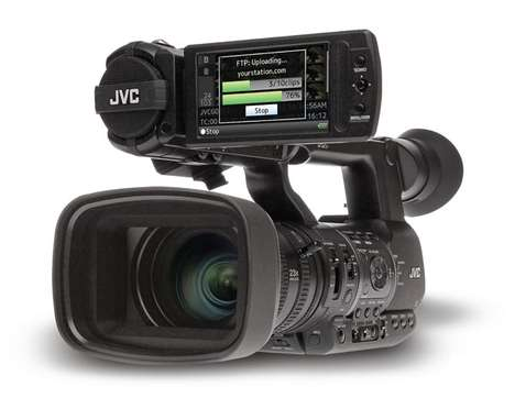 WiFi-Equipped Video Cameras - The new JVC GY-HM650 Boasts a Variety of Unbeatable Tech Features