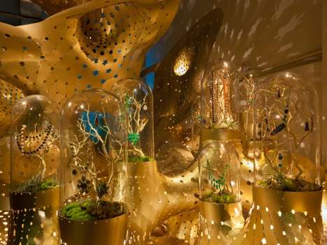 Slimy Gold Sculptures