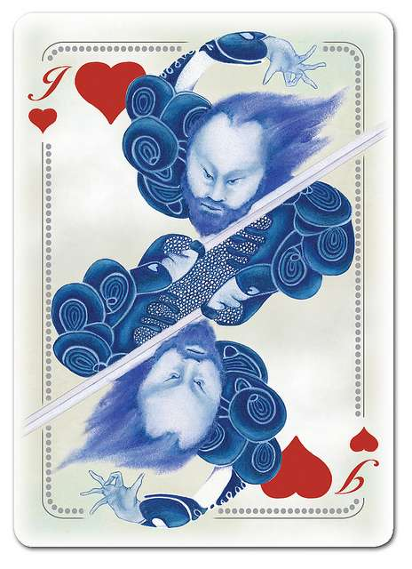 The Blue Blood Playing Cards Pay Homage to the Game's Ancient History