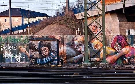 Love Chain-Encouraging Murals