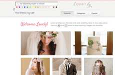 Nuptial Planning Sites - The Loverly Online Bridal Scrapbook Helps Organize the Big Wedding Day