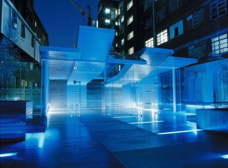 Glowing Hospital Architecture - The 'Orangery' by Spacelab is Modern