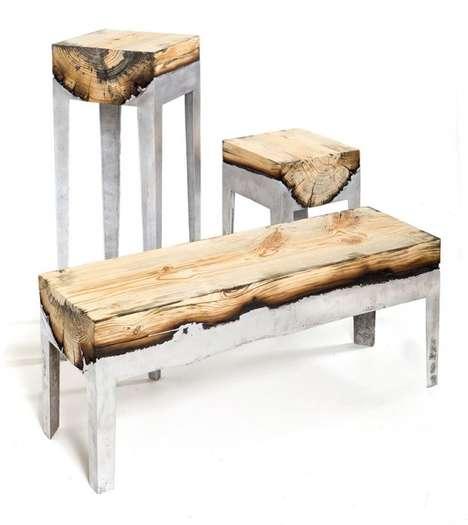Burnt Lumber Furniture