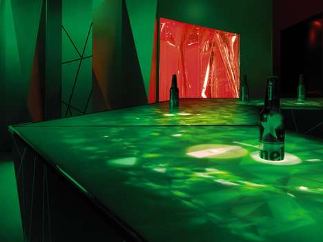 Futuristic Party Lounges