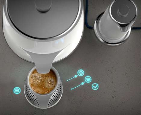 The 'MEM-COFFEE Set' is Touch-Activated