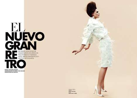Edgy 60s-Inspired Editorials
