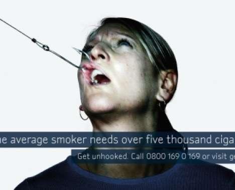 Shockvertising Smokefree Campaign Nhs Get Unhooked