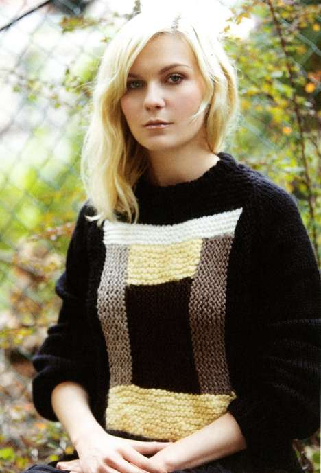 Elegant Earthy Editorials - The Kirsten Dunst A Magazine Photoshoot is Stunningly Simple