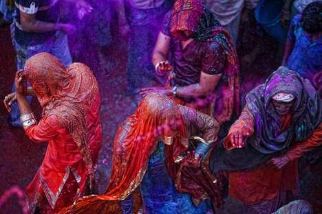 Vibrantly Visceral Festival Shoots