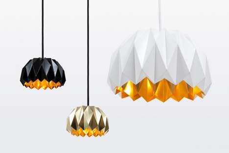 Prismatic Origami-Like Lighting