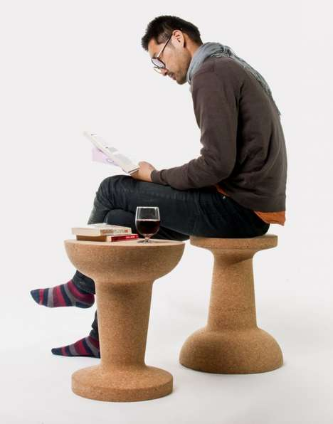Quirky Cork Furniture