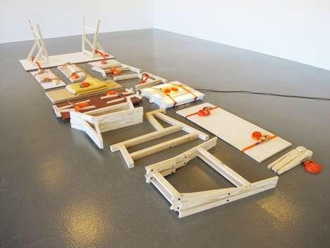 Minimalist Collapsible Furniture