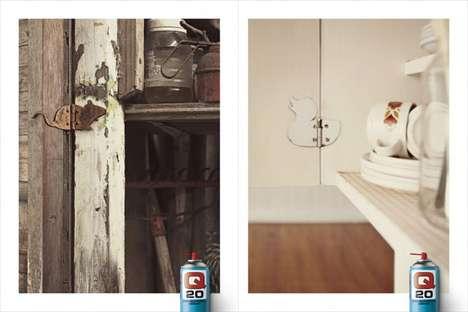 Animal-Shaped Hinge Ads