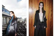 Purple-Browed Photoshoots - The Alana Zimmer Contributor Magazine Editorial is Futuristic