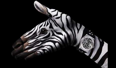 Manimali Watchvertizing - Guido Daniele's Painted Hand Watch Ads (UPDATE)
