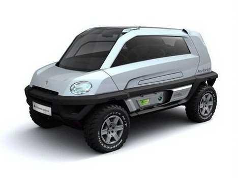 Off Road Concept Car In Geneva