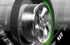 Self-Inflating Tires - Coda Lets You Keep on Driving