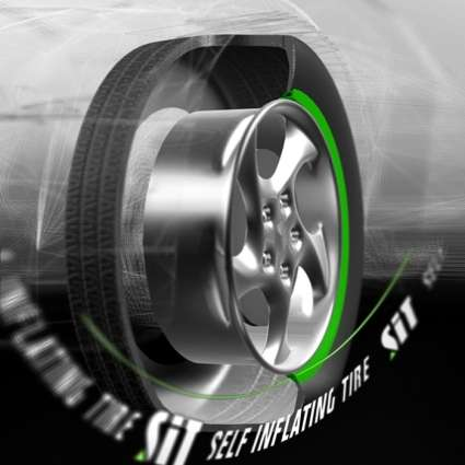 Self-Inflating Tires