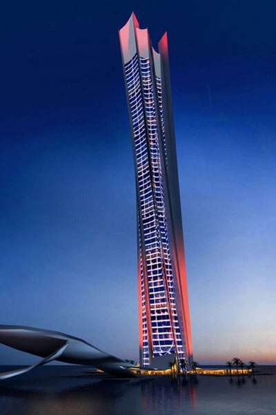 Dubai Again At Forefront of Lavish Design - The Wave Tower