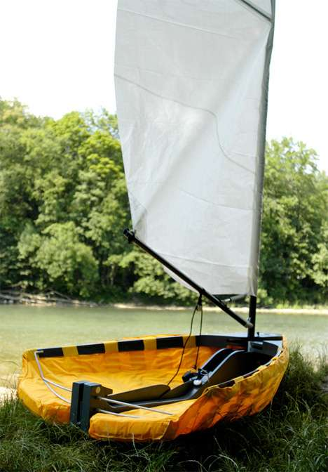 Portable Sail Boat - Urban Skiff