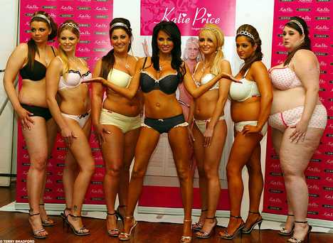 Fat Everyday Women at Jordan's Lingerie Launch
