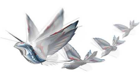 Glittery Gadget Really Flies