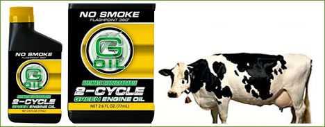Cow Fat Motor Oil