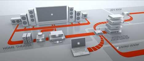 Microsoft's Ultimate Home Theater Setup