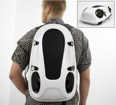 Boombox For Backs - Joonas Saaranen Reppo II Backpack