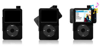 Rotating iPod Speakers