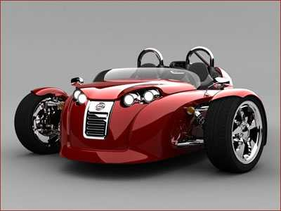 The Cirbin V13R Power Trike