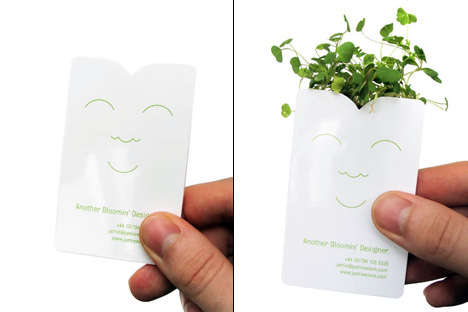 Living Business Cards
