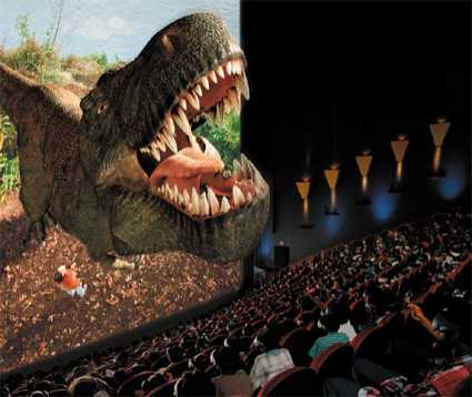 Saving Movie Theaters - 3D Films to Become Mainstream?